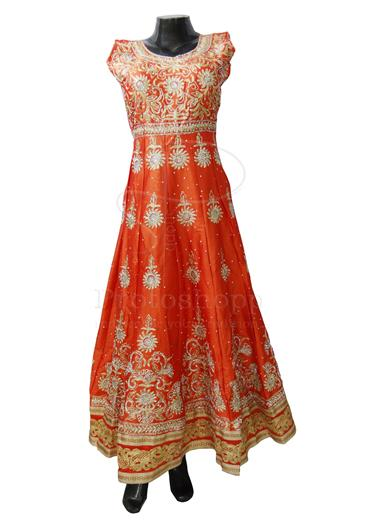Readymade-Heavy-Dress-Silk-with-Pajami